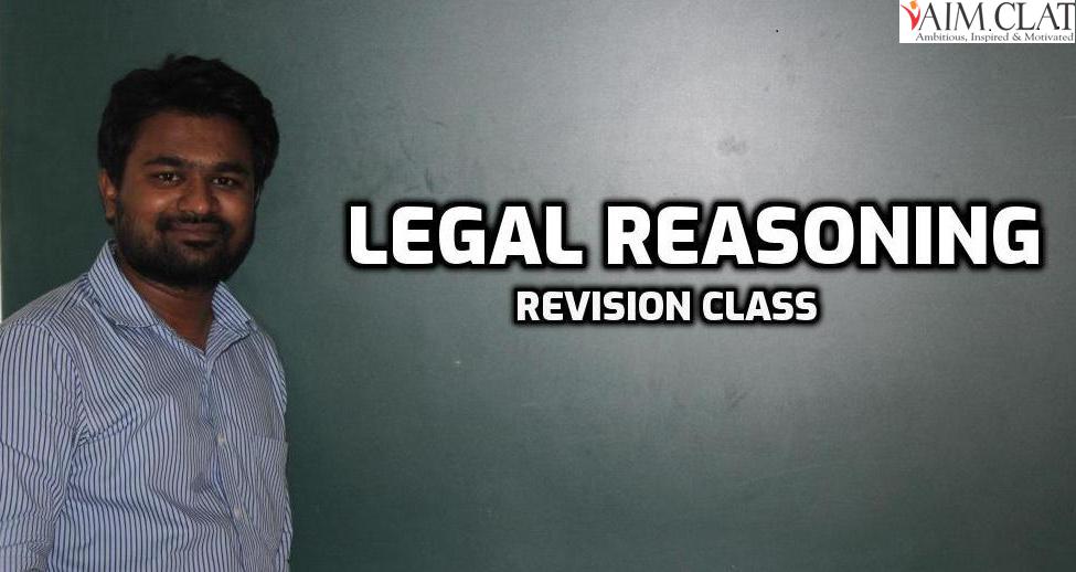 Legal Reasoning Class - 4