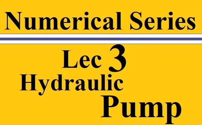 Lec 3 Hydraulic Turbines