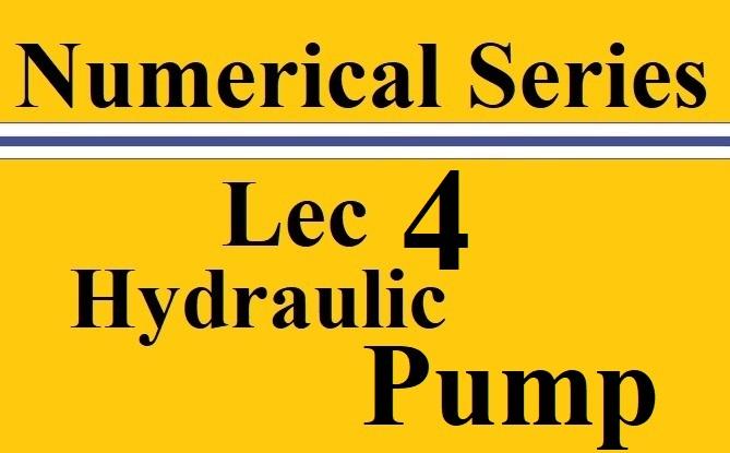 Lec 4 Hydraulic Turbines