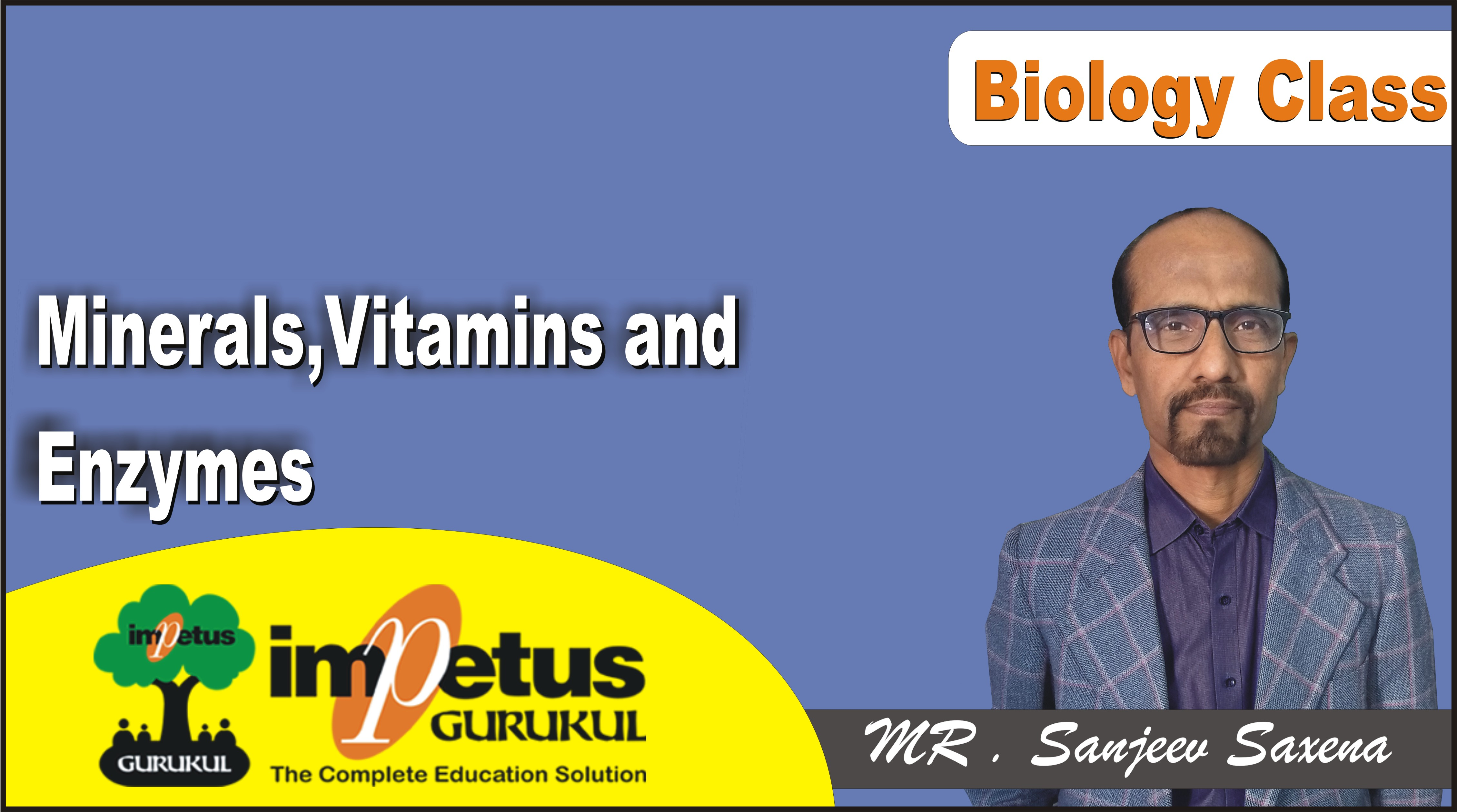 Minerals,Vitamins and Enzymes - 01
