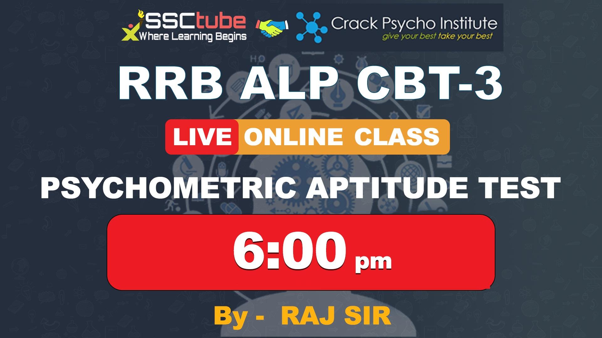 Session 3 | Psychometric Aptitude Test | By Raj Sir