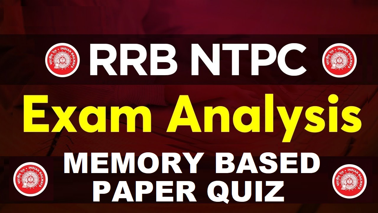 RRB NTPC CBT - I banner