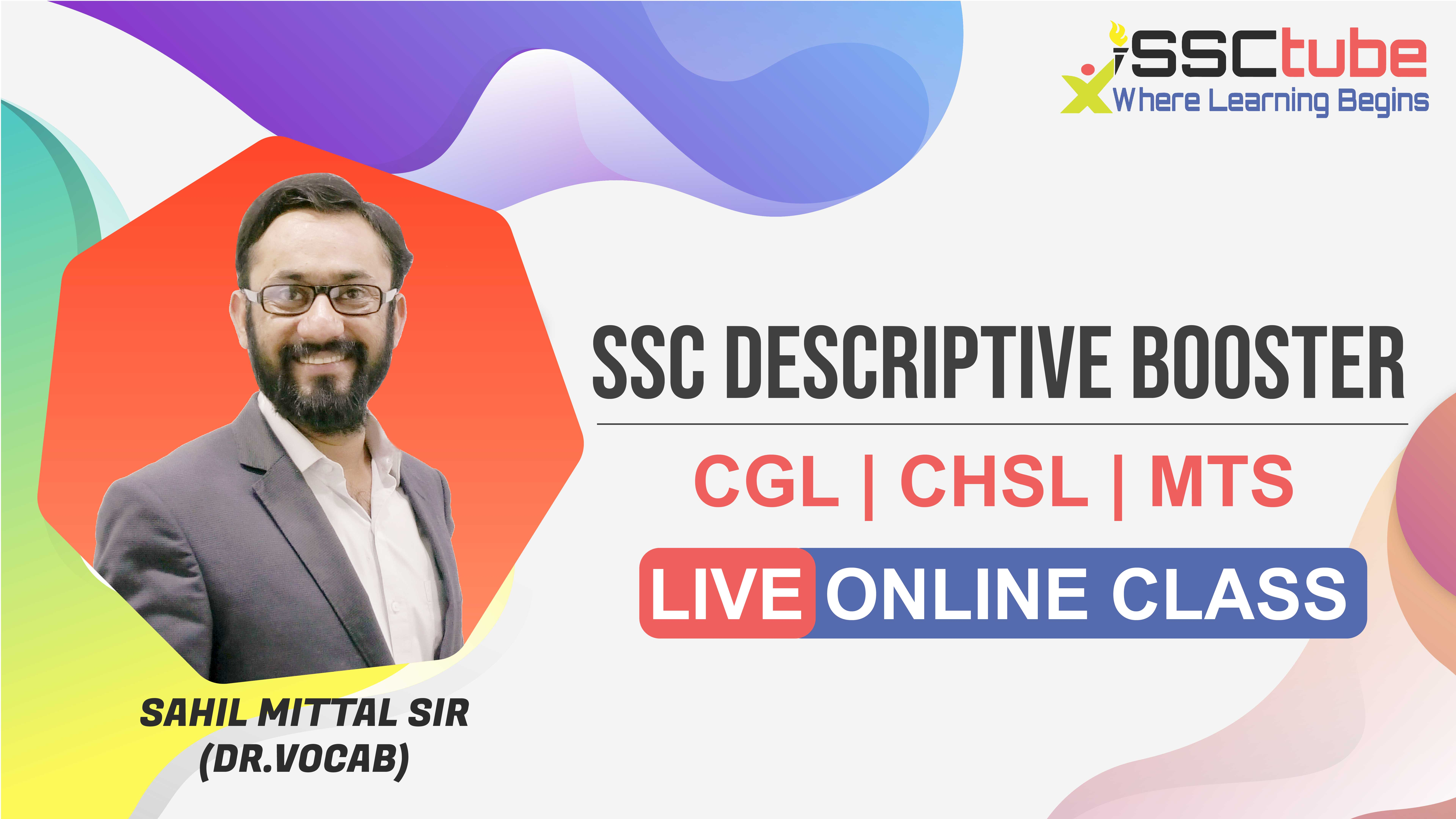 Session 11 | SSC Descriptive | Sahil Sir
