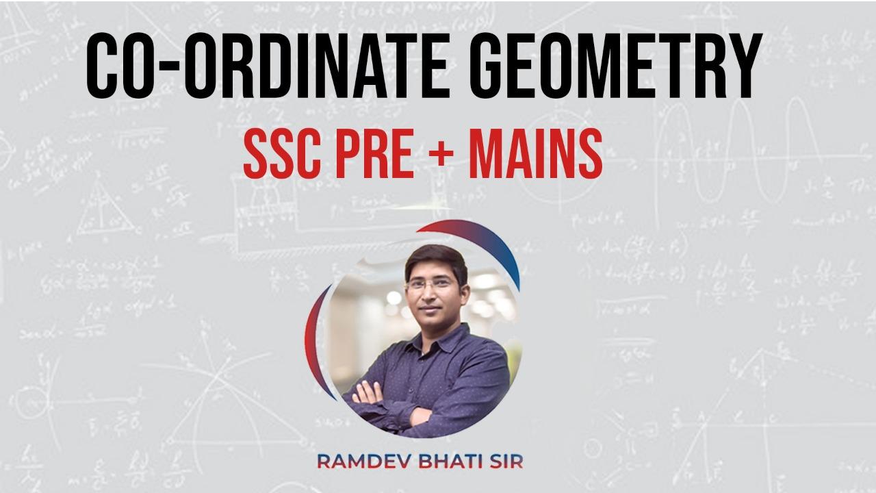 Co-Ordinate Geometry By Ramdev Bhati Sir
